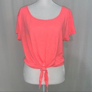 Pink Victoria's Secret Women's Crop Top Size XS